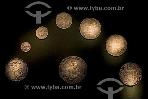 Assunto: Coleção de moedas do Centro Cultural Banco do Brasil / Local: Centro - Rio de Janeiro (RJ) - Brasil  / Data: 12/2009