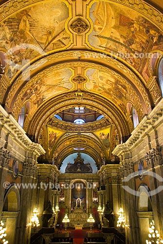Assunto: Vista do altar-mor da Igreja Nossa Senhora da Candelária / Local: Centro - Rio de Janeiro (RJ) - Brasil  / Data: 12/2009