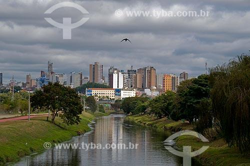 Assunto: Vista do rio Sorocaba / Local: Sorocaba - São Paulo (SP) - Brasil / Data: 06/2010