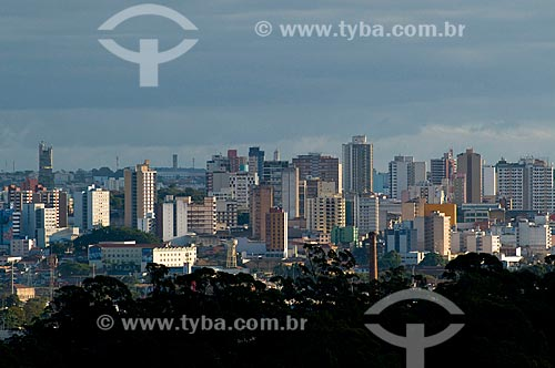 Assunto: Vista panorâmica de Sorocaba / Local: Sorocaba - São Paulo (SP) - Brasil / Data: 06/2010