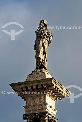 Assunto: Estátua de Tiradentes / Local: Ouro Preto - Minas Gerais (MG) - Brasil / Data: 02/2008
