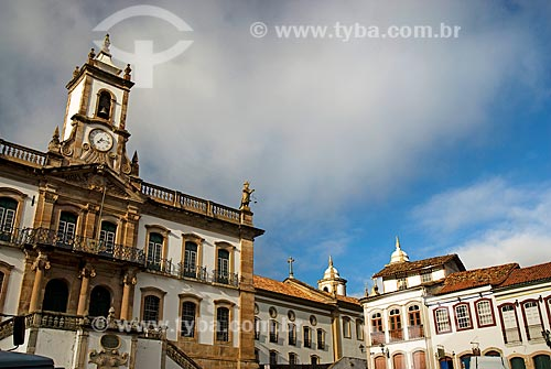 Assunto: Museu da Inconfidência - antiga Casa de Câmara e Cadeia de Vila Rica / Local: Ouro Preto - Minas Gerais (MG) - Brasil / Data: 02/2008