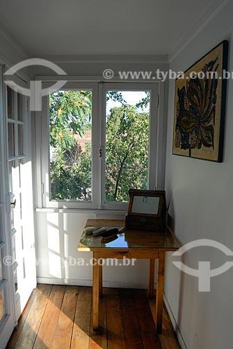 Assunto: Casa de Pablo Neruda -  La Chascona / Local: Santiago - Chile - América do Sul / Data: 01/2011