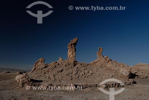 Assunto: Los vigilantes ou Três Marias - Vale da Lua (Valle de la Luna)  / Local: Chile - América do Sul / Data: 01/2011