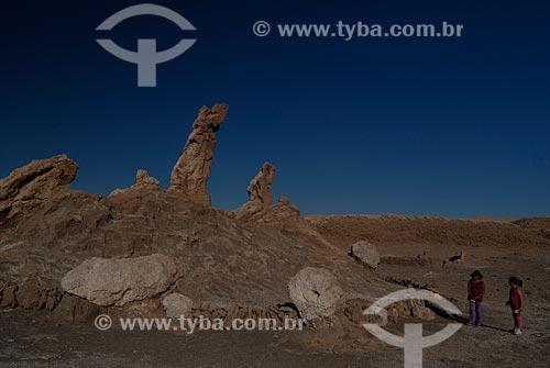 Assunto: Los vigilantes ou Três Marias - Vale da Lua (Vale de la Luna)   / Local: Chile - América do Sul / Data: 01/2011
