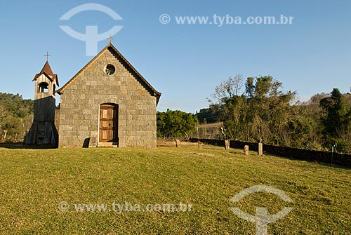 Assunto: Capela na Vila Fitarelli  / Local: Garibaldi - Rio Grande do Sul (RS) - Brasil / Data: 06/2009