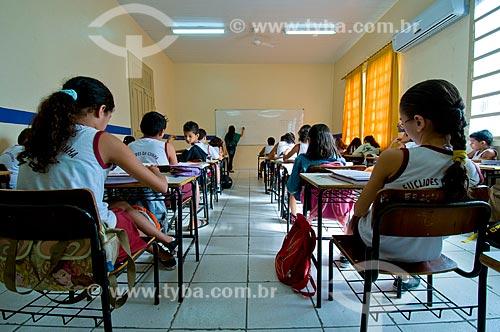 Assunto: Sala de aula da Escola Estadual Euclides da Cunha / Local: Boa Vista - Roraima (RR) - Brasil / Data: 05/2010