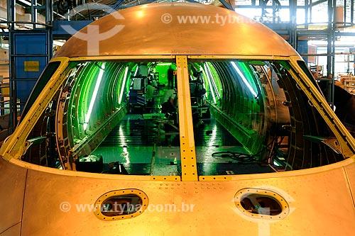 Assunto: Fabricação de avião na Embraer / Local: São José dos Campos  (SP) -  Brasil / Data: 08/2010