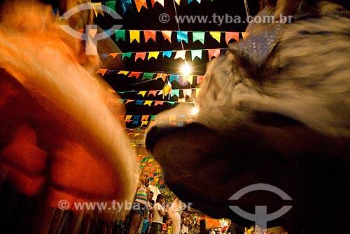 Assunto: Festa Junina na Rua Sargento Silva Nunes  / Local: Nova Holanda - Rio de Janeiro (RJ) - Brasil / Data: 06/2007