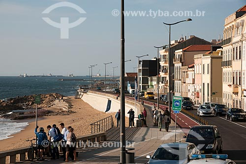 Assunto: Orla da cidade do Porto - Rua do Coronel Raúl Peres - Praia do Ourigo / Local: Porto - Portugal - Europa / Data: 10/2010