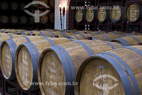 Assunto: Barris de vinho da Vinícola Aurora / Local: Bento Gonçalves - Rio Grande do Sul (RS) - Brasil / Data: 02/2009