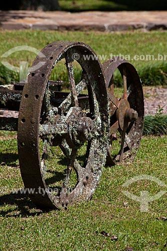 Assunto: Carcaça de carro de boi / Local: Canela - Rio Grande do Sul (RS) - Brasil / Data: 03/2011