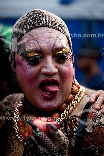 Assunto: Folião na Banda de Ipanema - Fantasia