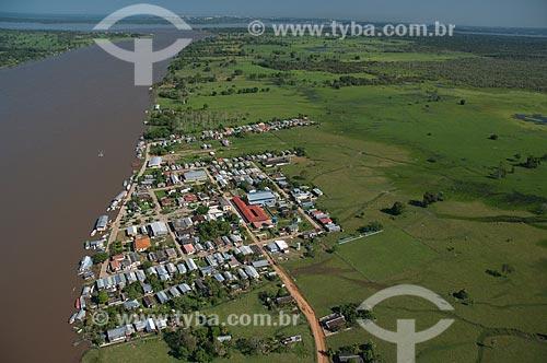 Assunto: Vista aérea do município de Careiro da Várzea na margem direita do Rio Amazonas  / Local: Careiro da Várzea - Amazonas (AM) - Brasil  / Data: 06/2007