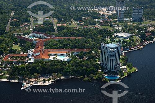 Assunto: Vista aérea do Hotel Tropical e do Hotel Park Suites / Local: Manaus - Amazonas (AM) - Brasil / Data: 06/2007