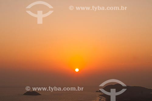 Assunto: Pôr do sol visto da Duna Huamanchacate / Local: Coishco - Departamento de Ancash - Peru - América do Sul / Data: 07/05/2011