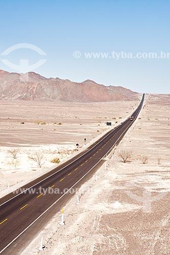 Assunto: Rodovia Panamericana Sul (Carretera Panamericana Sur) / Local: Nasca - Departamento de Ica - Peru - América do Sul / Data: 16/05/2011