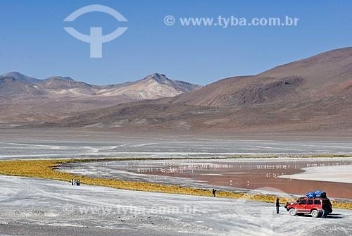 Assunto: Laguna Colorada - Reserva nacional Eduardo Avaroa - A caminho do Salar de Uyuni  / Local: Bolivia - América do Sul / Data: 01/2011