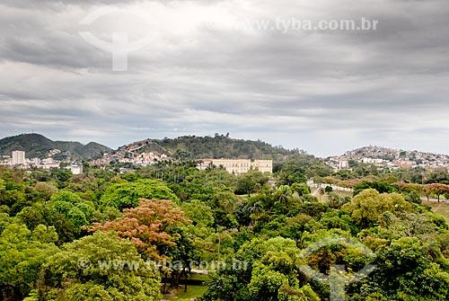 Assunto: Vista da Quinta da Boa Vista e de parte do Morro da Mangueira ao fundo  / Local: São Cristovão - Rio de Janeiro (RJ) - Brasil / Data: 10/2009