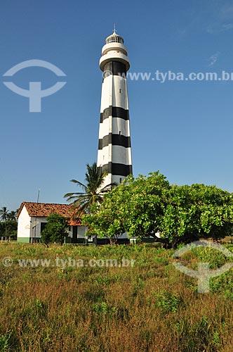 Assunto: Farol Preguiças também chamado Farol de Mandacarú - Área da Marinha do Brasil / Local: Barreirinhas - Maranhão (MA) - Brasil / Data: 07/2011