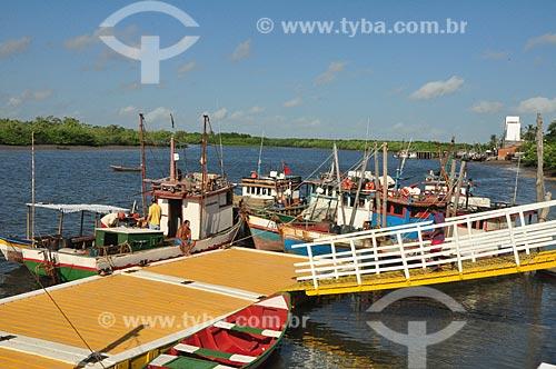 Assunto: Vista do Porto de Tutóia / Local: Tutóia - Maranhão (MA) - Brasil / Data: 07/2011