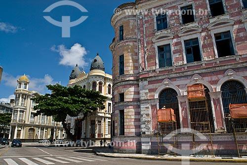 Assunto: Edificio Arnaldo Dubeux: antiga sede da Bolsa de Valores - Futuras instalações da Caixa Cultural / Local: Recife - Pernambuco (PE) - Brasil / Data: 04/2010