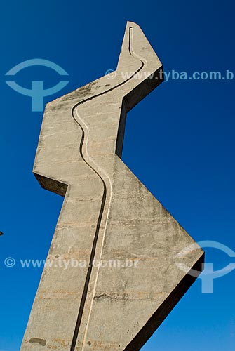 Assunto: Memorial Coluna Prestes - localizado na  Avenida Ipiranga / Local: Santo Angelo - Rio Grande do Sul - Brasil / Data: 01/2010