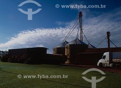 Assunto: Vista de silos / Local: Chapecó - Santa Catarina (SC) - Brasil / Data: 2007