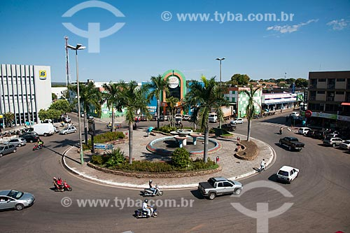 Assunto: Centro da cidade de Barra do Garças / Local: Barra do Garças - Mato Grosso (MT) - Brasil / Data: 07/2011