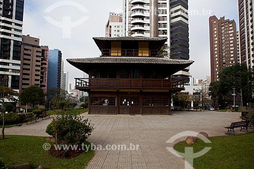 Assunto: Memorial da Imigração Japonesa na Praça do Japão / Local: Água Verde - Curitiba - Paraná (PR) - Brasil / Data: 05/2011
