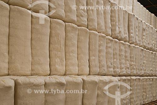 Assunto: Depósito de fardos de algodão da Fazenda Planalto / Local: Costa Rica - Mato Grosso do Sul (MS)- Brasil / Data: 2010