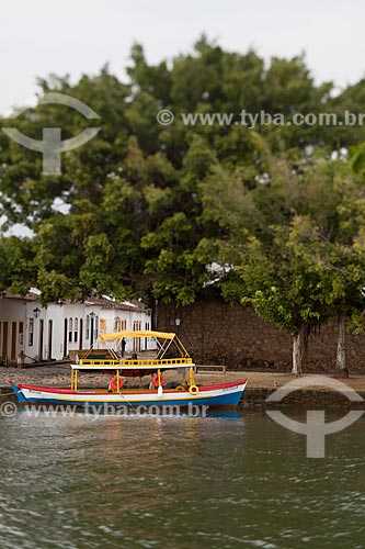 Assunto: Barco no Rio Perequê-Açu / Local: Paraty - Rio de Janeiro (RJ) - Brasil / Data: 07/2011