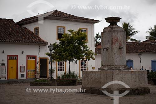 Assunto: Chafariz do Pedreira (1851) - Praça Presidente Pedreira / Local: Paraty - Rio de Janeiro (RJ) - Brasil / Data: 07/2011
