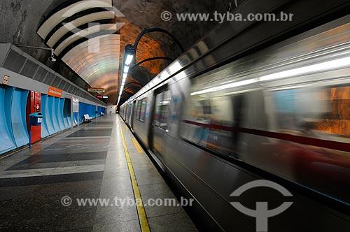 Assunto: Estação de metrô Cardeal Arcoverde / Local: Rio de Janeiro (RJ) -  Brasil / Data: 10/2010