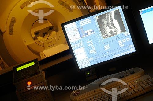 Assunto: Aparelho de tomografia do Hospital Copacabana DOr / Local: Rio de Janeiro (RJ) -  Brasil / Data: 2009