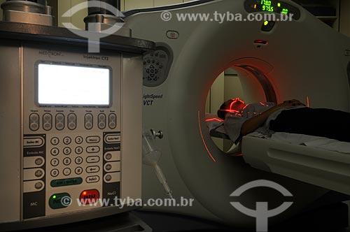 Assunto: Aparelho de tomografia do Hospital Copacabana DOr - DC nº 92 / Local: Rio de Janeiro (RJ) -  Brasil / Data: 2009