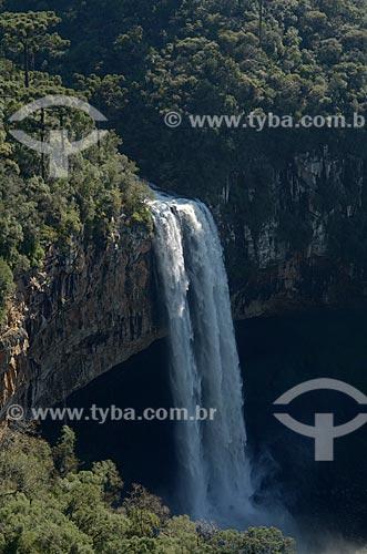 Assunto: Vista da Cascata do Caracol / Local: Canela - Rio Grande do Sul (RS) - Brasil / Data: 07/2011
