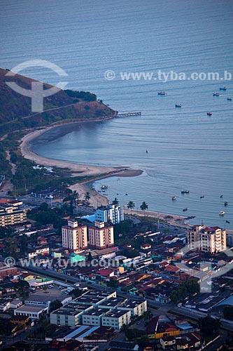 Assunto: Vista de Caraguatatuba do alto do Morro de Santo Antônio  / Local: Caraguatatuba - São Paulo (SP) - Brasil / Data: 08/2011
