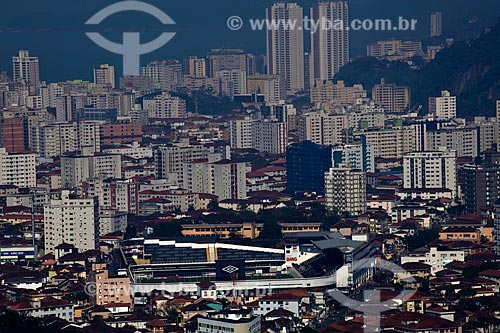 Assunto: Vista aérea do Estádio Urbano Caldeira (mais conhecido como Vila Belmiro) do Santos Futebol Clube   / Local: Santos - São Paulo (SP) - Brasil / Data: 08/2011