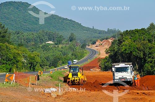 Assunto: Obras de duplicação da Rodovia BR-386 / Local: Lajeado - Rio Grande do Sul (RS) - Brasil / Data: 03/2011