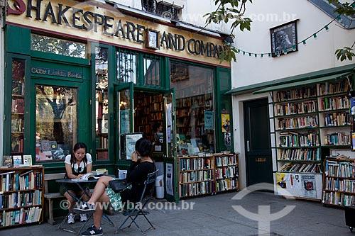 Assunto: Livraria Shakespeare and Company / Local: Paris - França / Data: 08/2011
