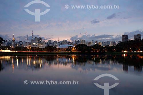 Assunto: Parque do Ibirapuera ao entardecer / Local: São Paulo (SP) - Brasil / Data: 06/2011