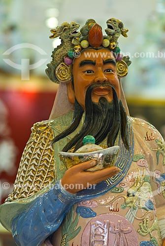 Assunto: Deus chinês da fortuna / Local: Xangai - China - Ásia / Data: 11/2006