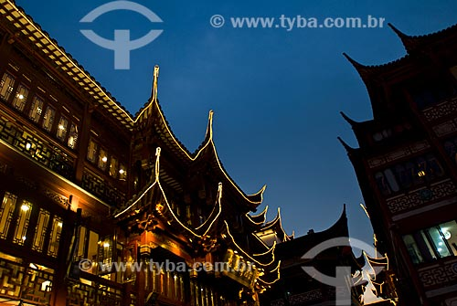 Assunto: Jardim Chinês Yu Yuan / Local: Xangai - China - Ásia / Data: 11/2006