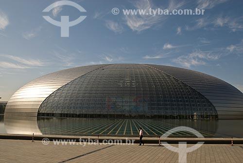Assunto: Centro Nacional de Artes Performáticas de Pequim - Também chamado de Grande Teatro Nacional / Local: Pequim - China - Ásia / Data: 05/2010