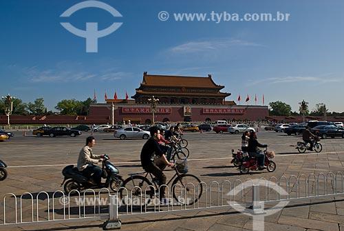 Assunto: Praça da Paz Celestial / Local: Pequim - China - Ásia / Data: 05/2010