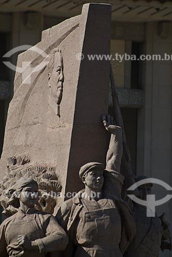 Assunto: Monumento a revolução chinesa na Praça da Paz Celestial / Local: Pequim - China - Ásia / Data: 05/2010