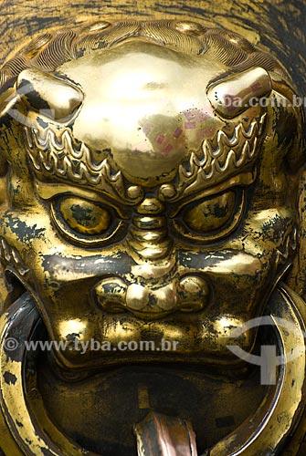 Assunto: Estátua de Dragão na cidade Proibida / Local: Pequim - China - Ásia / Data: 05/2010