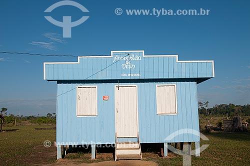 Assunto: Seringal Cachoeira - Igreja evangélica Assembléia de Deus / Local: Xapuri - Acre (AC) - Brasil / Data: 11/2009