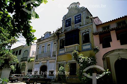 Assunto: Casario do Largo do Boticário / Local: Cosme Velho - Rio de Janeiro (RJ) -Brasil / Data: 10/2000